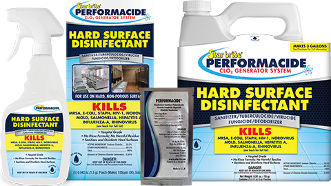 ClO2 Hard Surface Disinfectant