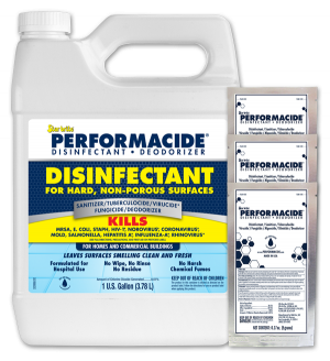102000SS - Disinfectant - Deodorizer - Gallon Kit 3 Pack